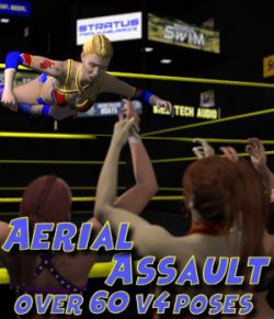 Aerial Attack Poses for V4