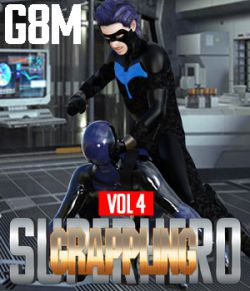 SuperHero Grappling for G8M Volume 4