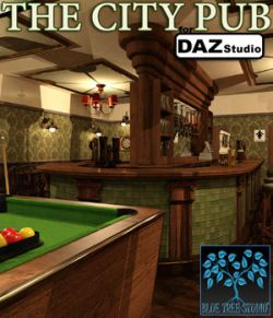 The City Pub for Daz Studio