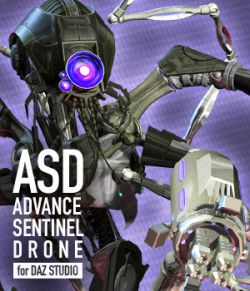Advance Sentinel Drone for DAZ