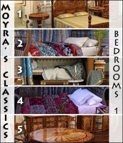 Moyra's Classics- Bedrooms 1