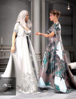 dForce Heilong Outfit Textures