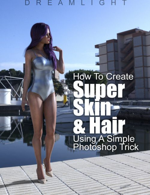 Super Skin And Hair - Photoshop Video Tutorial