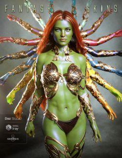 Fantasy Skins for Genesis 8