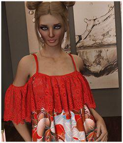 Flirt For dForce- Gypsy Dress for G8F