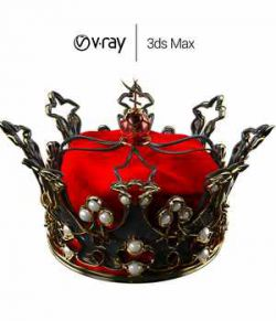 Queen's Crown for 3ds Max - Extended License