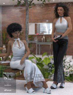 dForce Sophia Outfit for Genesis 8 Female(s)