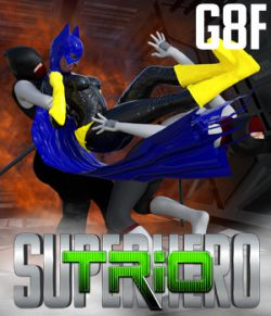 SuperHero Trio for G8F Volume 1