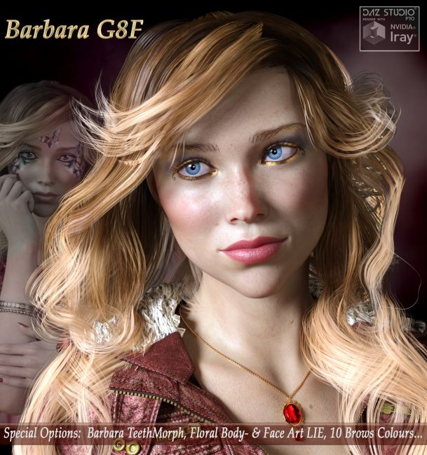BARBARA for Genesis 8 Female