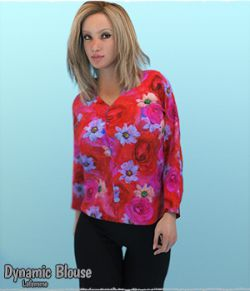Dynamic Blouse LaFemme