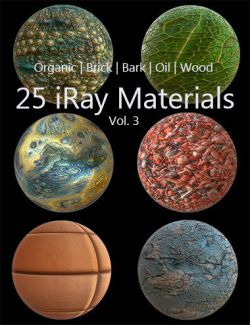 Iray Materials Collection Vol 3
