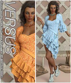 VERSUS- dForce Dorothy Outfit for Genesis 8 Females