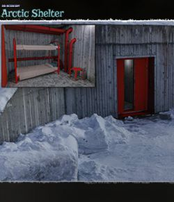 3D Scenery: Arctic Shelter
