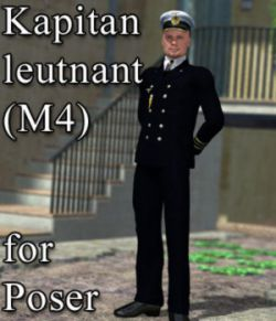 Kapitanleutnant M4 for Poser