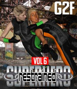 SuperHero Restrained for G2F Volume 6