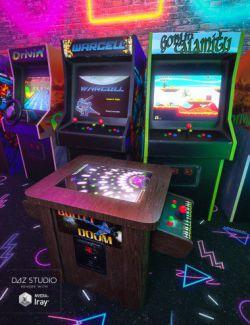 Retro Arcade Cabinets