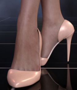 Abigail Heels for Genesis 8 Female