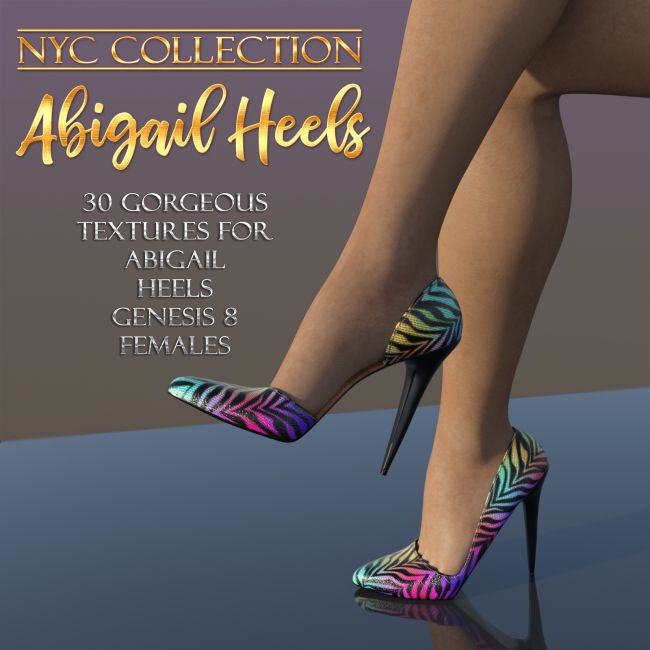 NYC Collection: Abigail Heels G8