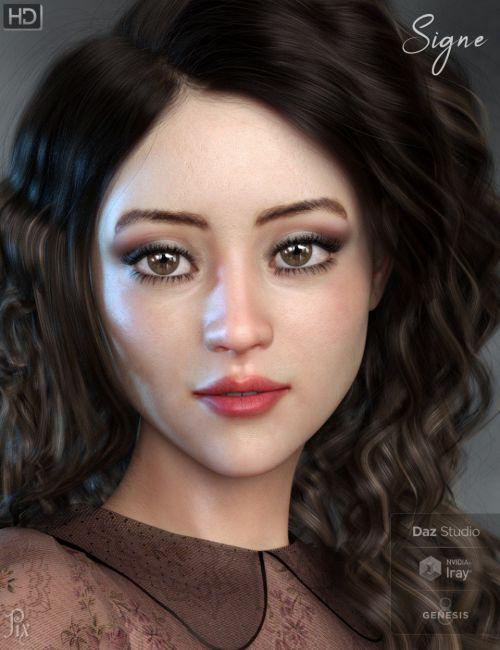 Pix Signe HD for Genesis 8 Female