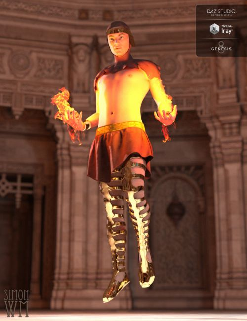 Chronicles of the Gods Outfit for Genesis 8 Male(s)
