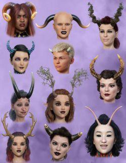 Universal Horns for Genesis 8 Female(s)