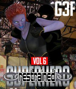 SuperHero Restrained for G3F Volume 6
