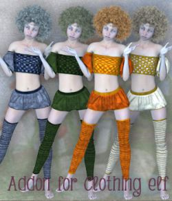 Addon for Clothing Elf