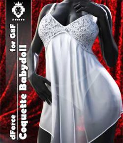 JMR dForce Coquette Babydoll for G8F