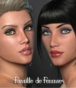 Famille de Femmes - Morphs and Materials for La Femme