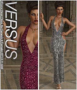 VERSUS - dForce Viper Dress for Genesis 8 Females