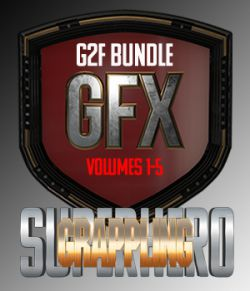 SuperHero Grappling Bundle for G2F