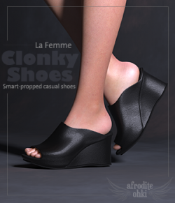 Clonky Shoes for La Femme