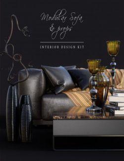 DGV_Modular Sofa & Props