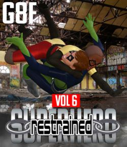 SuperHero Restrained for G8F Volume 6