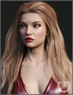 Elysa Hair for Genesis 3 and 8 Female(s)