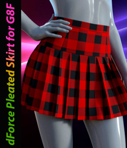 dForce Pleated Skirt for G8F