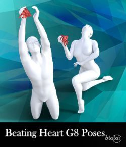 Beating Heart Poses for G8M and G8F