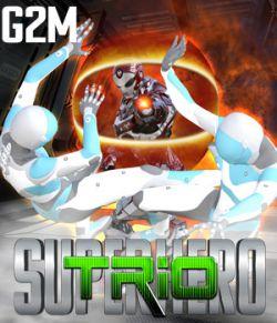 SuperHero Trio for G2M Volume 1