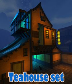 Teahouse set