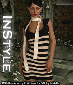 InStyle - JMR dForce Jenny Knit Dress for G8F
