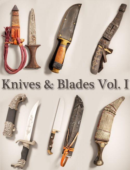 Knives and Blades Vol.1