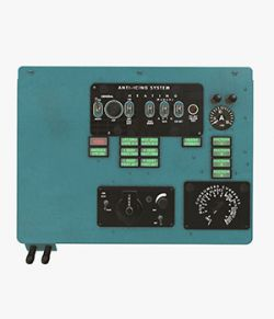 Mi-8MT Mi-17MT Left Overhead Panels Board English - Extended License