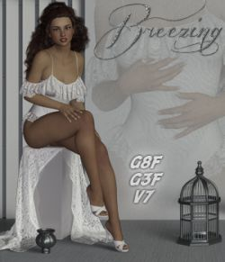 Breezing- Poses for G3F-V7-G8F