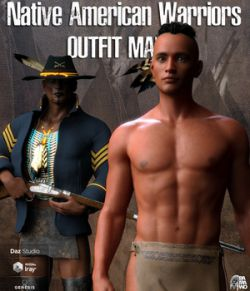 Native American Warrior Outfit for G8M