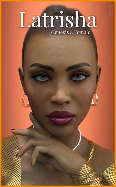 MYKT Latrisha for Genesis 8 Female | Characters for Poser and Daz Studio