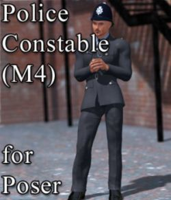 Police Constable M4 for Poser