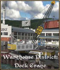 Warehouse District, Dock Crane