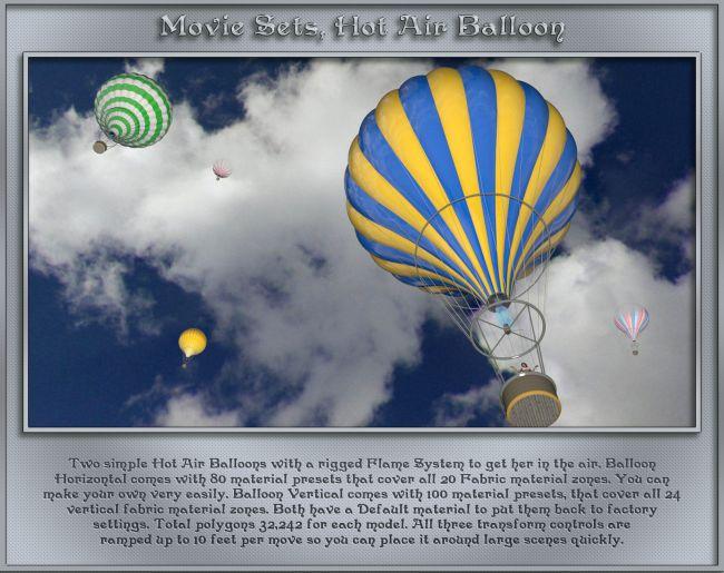 Movie Sets, Hot Air Balloon