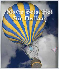 Movie Sets, Hot Air Balloon