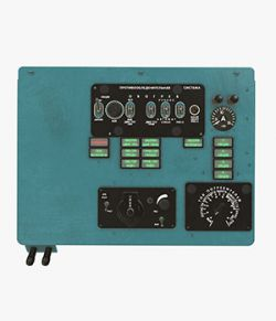 Mi-8MT Mi-17MT Left Overhead Panels Board Russian - Extended License